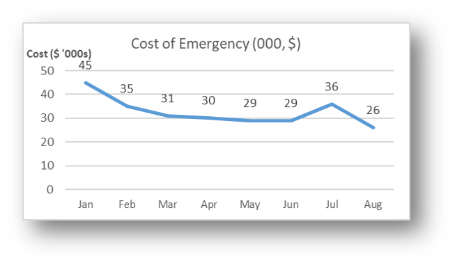 Cost of Emergency